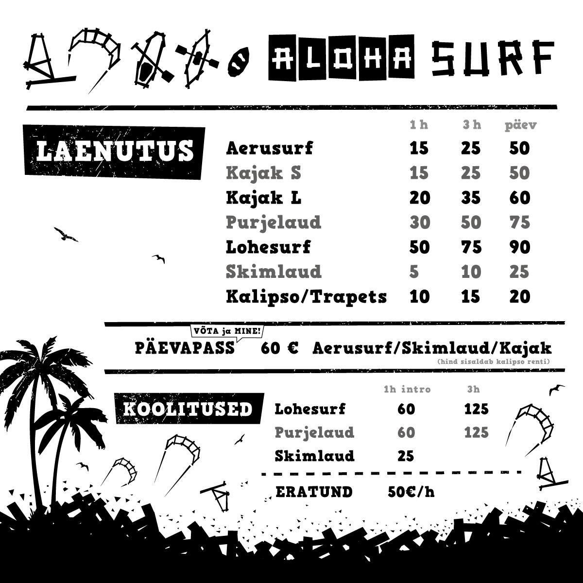 Aloha hinnakiri